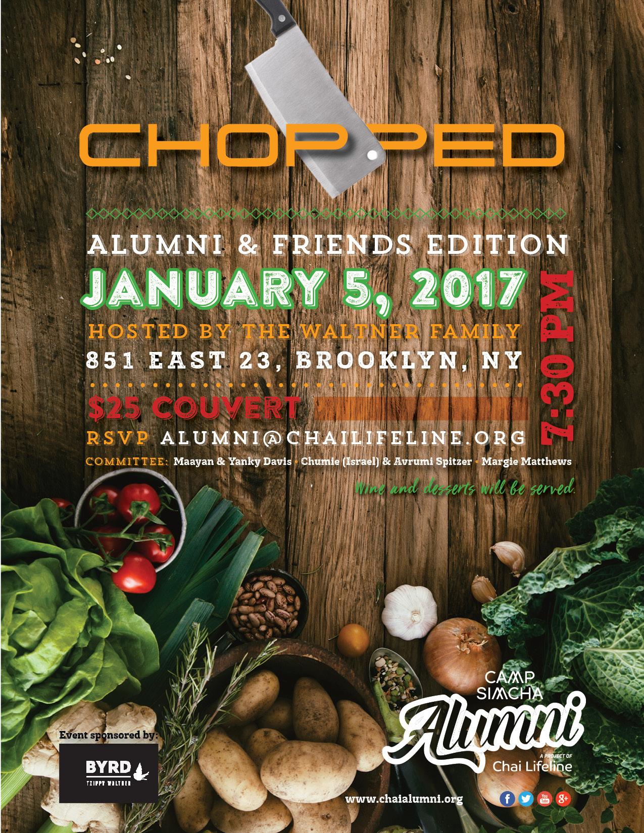 Chopped Cooking Competition