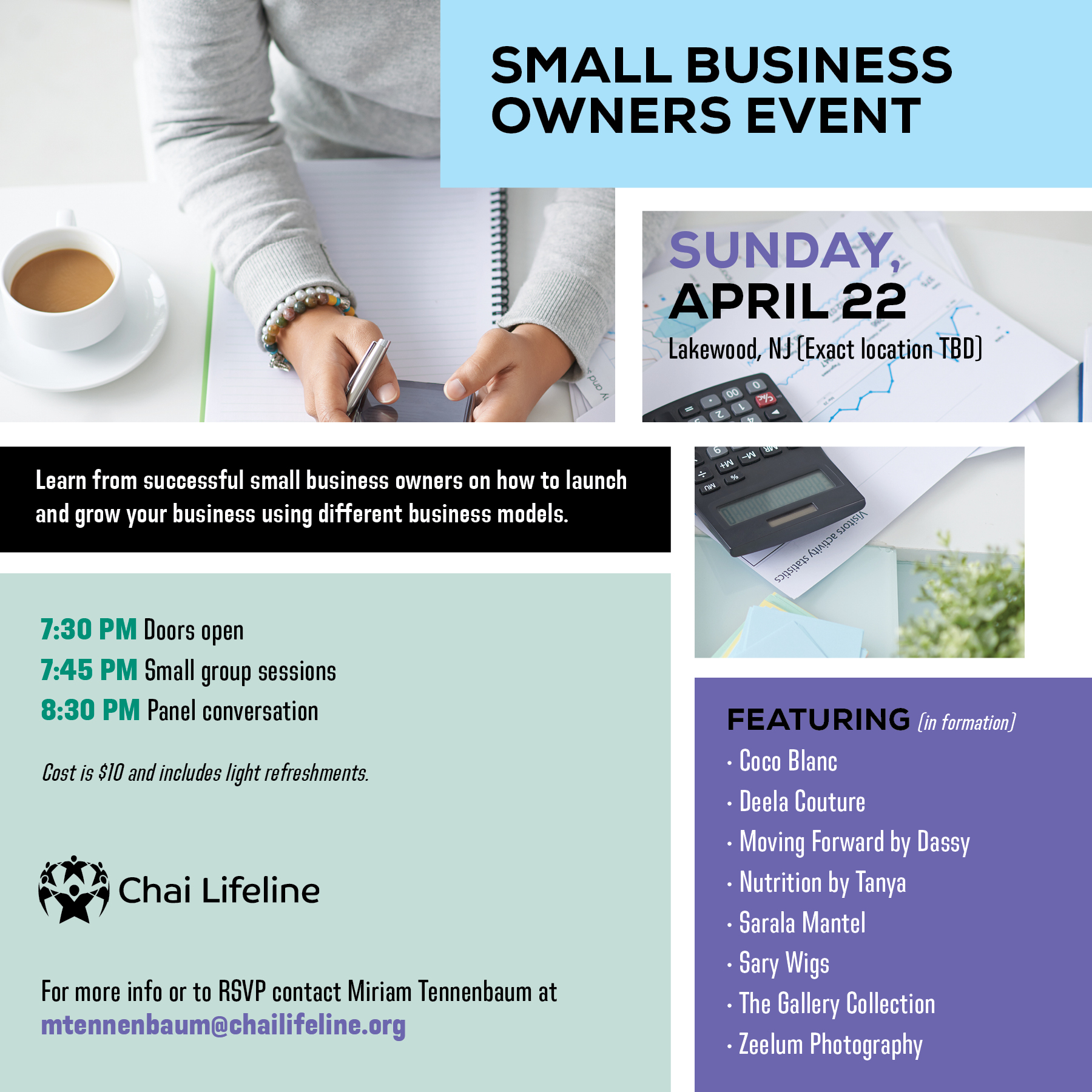 Small Business Owners Networking Event