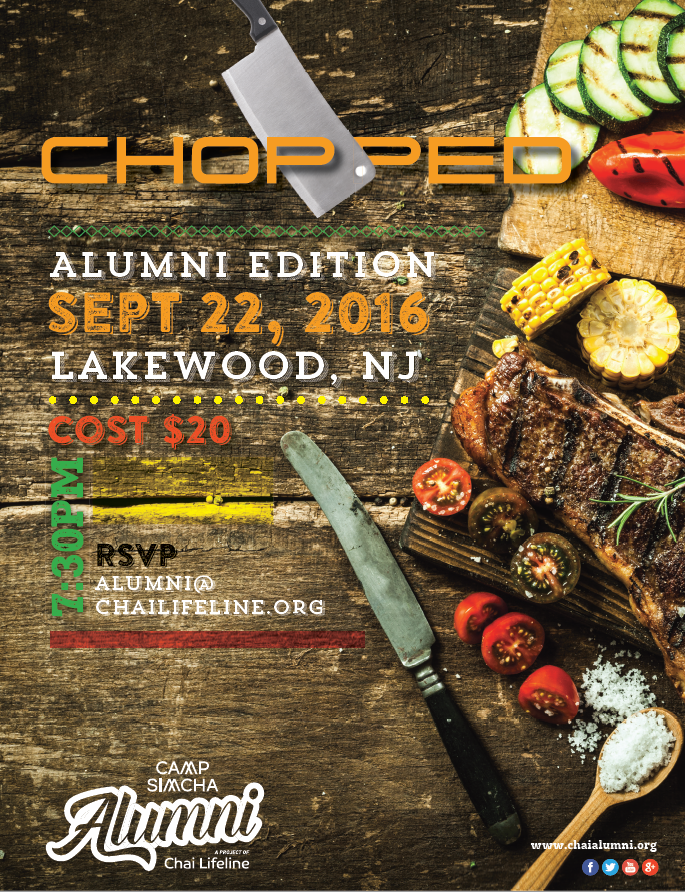 CHOPPED event- Lakewood