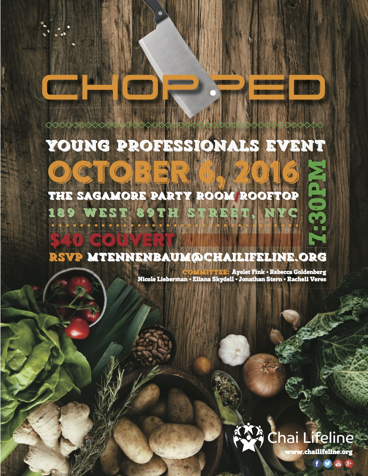 Chopped Event- UWS