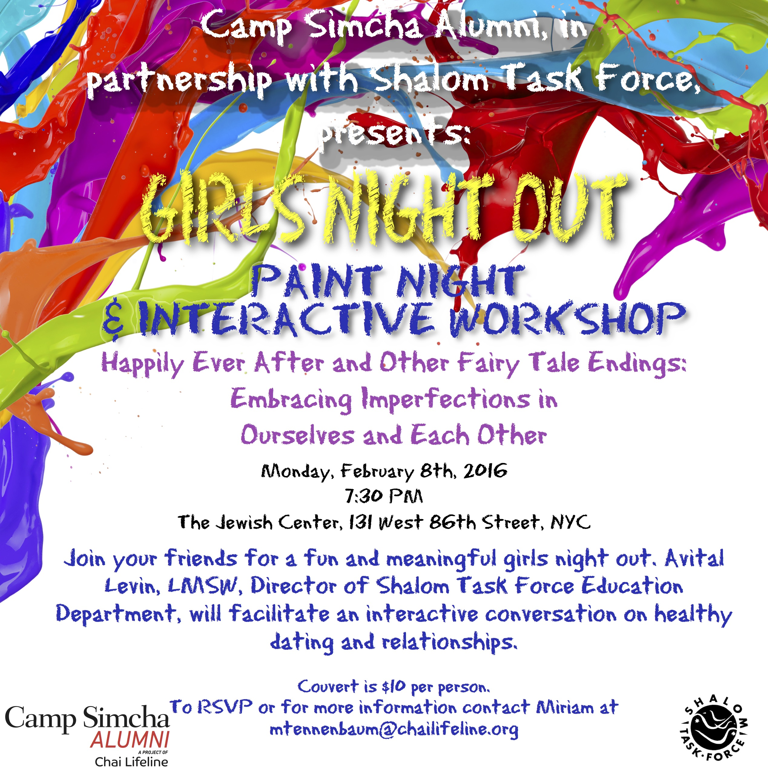 Alumni Paint Night