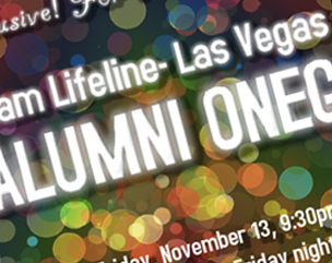 Team Alumni at Team Lifeline Las Vegas Marathon