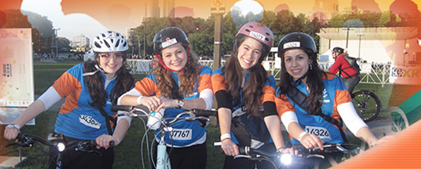 Are You Riding with Chai Lifeline at Bike the Drive?