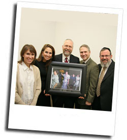 Adeline S. Zucker Chai Family Center Dedicated by Chai Lifeline