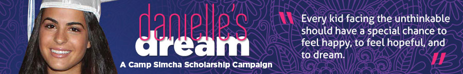 Danielle´s Dream: A Special Scholarship Campaign for Camp Simcha